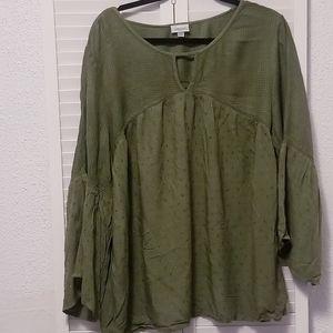 Smock Style Shirt
